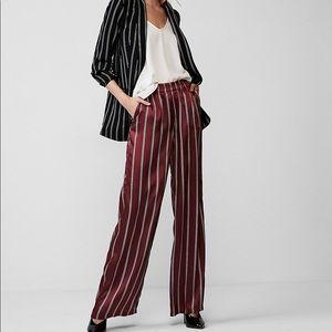 Pants - NWT Express Mid Rise Stripe Wide Leg Pant